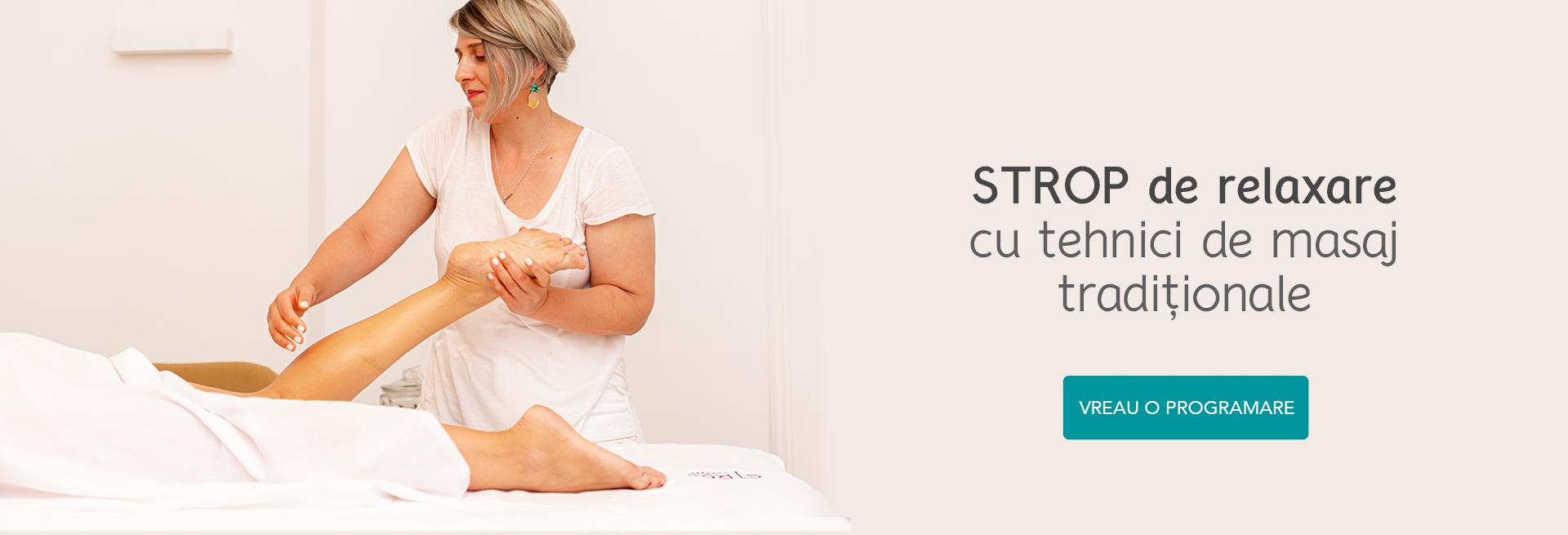 Masaj corporal Tratament corporal STROP Concept